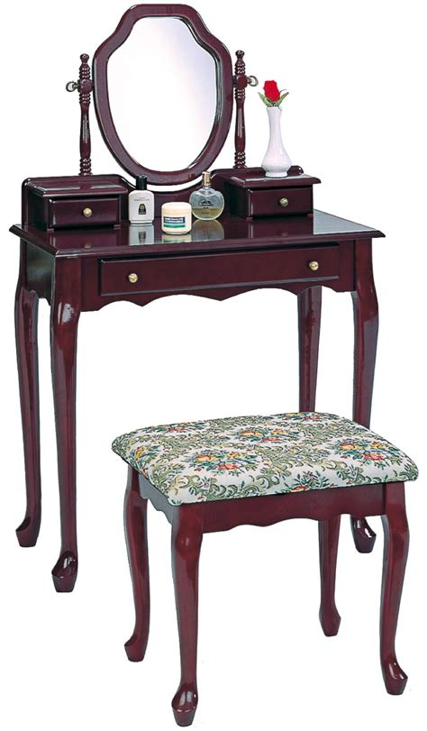 vanity bench set vanity bench set dark wooden dressing table stool 3441 coaster