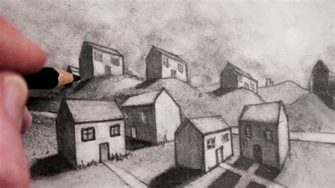 how to draw 3d house how to draw a house in 2 point perspective