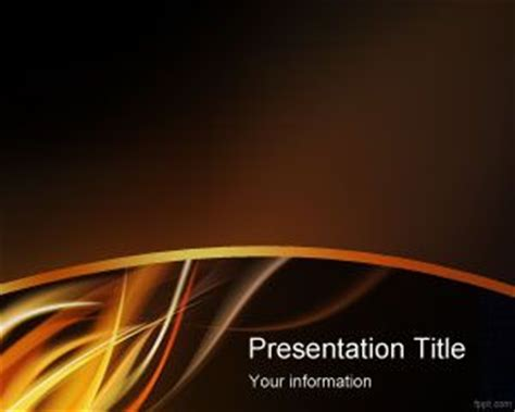 powerpoint themes free download fire fire powerpoint templates