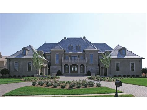 chateau style home plan homepw16761 8126 square foot 5 bedroom 5