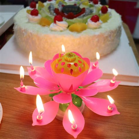 lotus flower birthday candle popular lotus birthday candle buy cheap lotus birthday