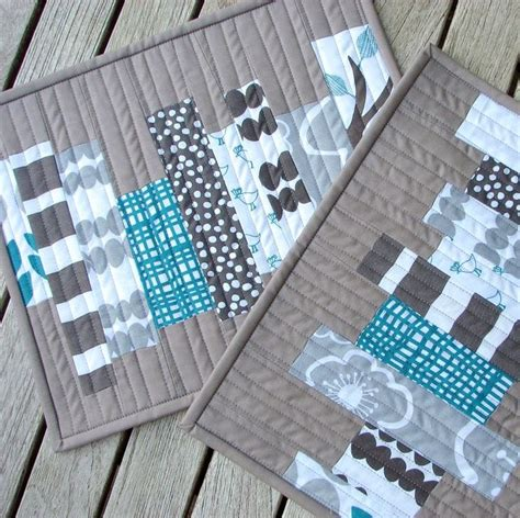 Patchwork Table Mats Pattern - 17 best ideas about mug rugs on mug rug