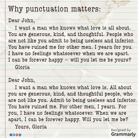 dear up letter punctuation grammarly on quot meaning changes significantly