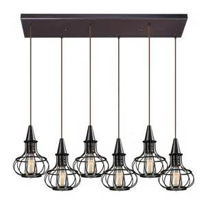 Multi Pendant Lighting Multi Light Pendant Light 6 Lights 14191 6rc Destination Lighting