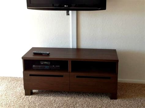 tv bench sale tv bench with drawers ikea basta walnut for sale in