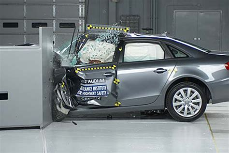 Audi A4 Crashtest by Perspective On Audi A4 Performance In New Iihs Small