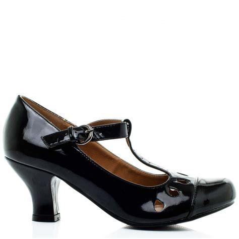 shoes heel buy ruth kitten heel court shoes black patent