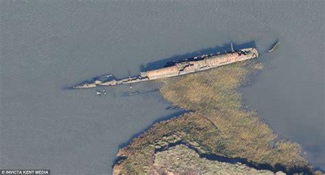 german u boat harbour a monster off the british coast rusting hulk of world war