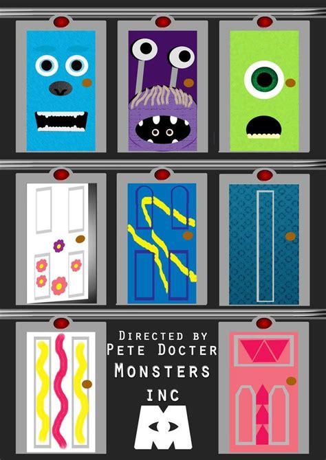 Kaos Monsters Inc 13 mejores 13 im 225 genes de monsters inc door en puertas de monsters inc monsters