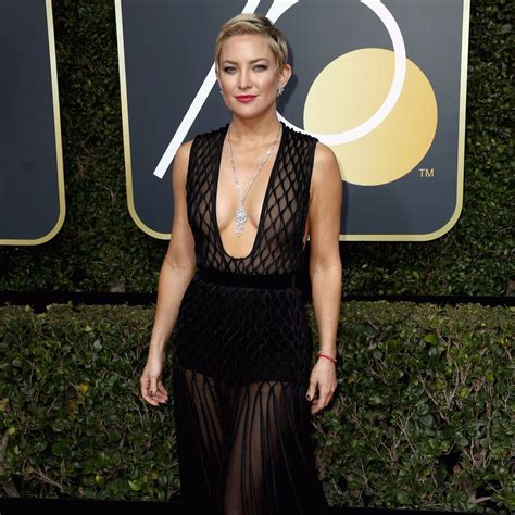 Kate Hudson Golden Globes Dress 2018   POPSUGAR Fashion