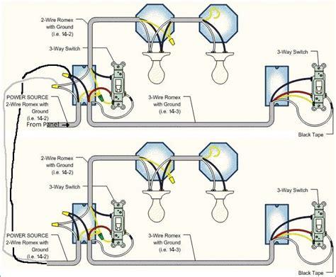 four way switch wiring diagram lights wiring