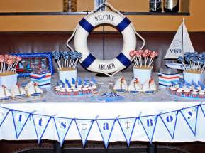 nautical baby showers 31 cool baby shower ideas for boys