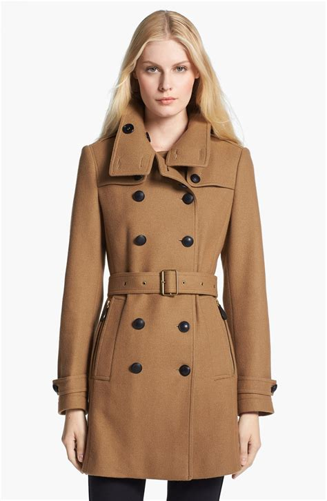 In Coat by Burberry Brit Daylesmoore Wool Blend Trench Coat For