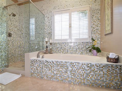Mosaic Shower Tile by Mosaic Tile Bathroom Myideasbedroom