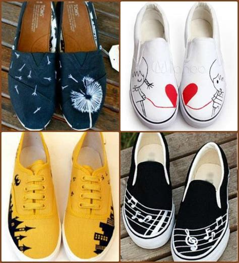 diy shoes paint 10 easy designs to make funky painted sneakers