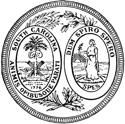 state seal coloring pages