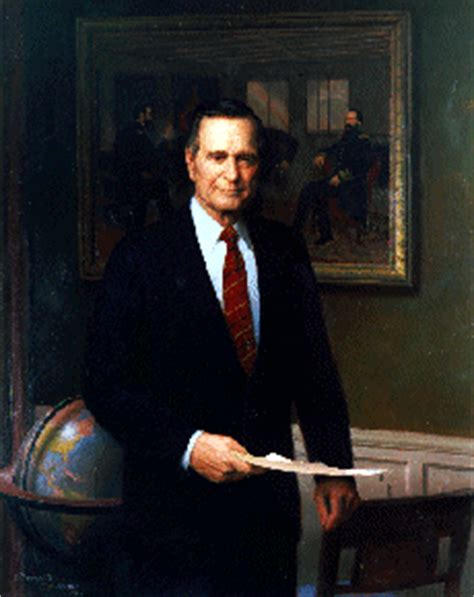 biography us presidents biography of president george bush for kids