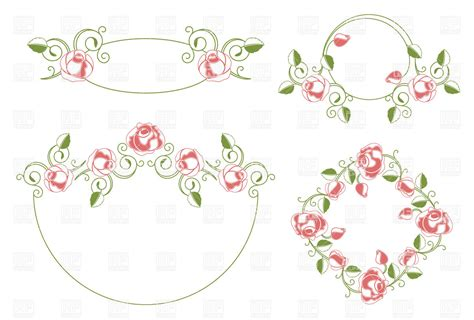 Wedding Border Vector by 19 Floral Wedding Vector Images Free Flower Vector