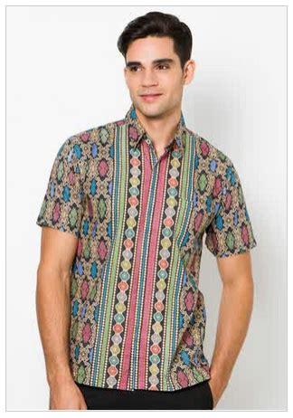 Kain Batik Pekalongan 234 busana muslim batik pria model baru danitailor