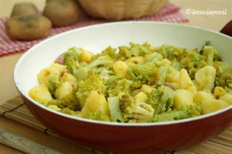 come cucinare i broccoli in padella ricetta patate e broccoli in padella