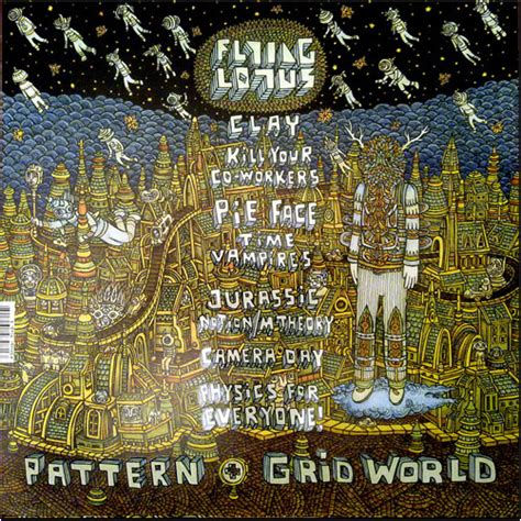 pattern grid world flying lotus flying lotus pattern grid world 1000x1000 albumartporn