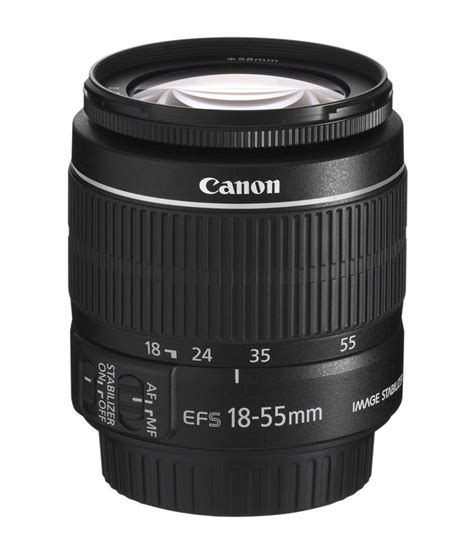 canon zoom canon zoom lens ef s 18 55mm 3 5 5 6 is ii price in india