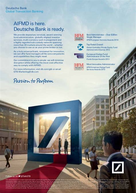 deutsche bank recommendations guide to aifmd 2014