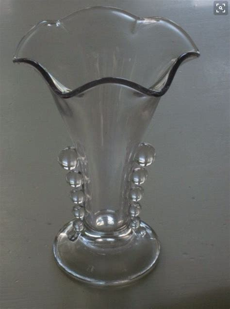 Candlewick Vase by Imperial Glass Candlewick Pattern Vase Imperial Glass