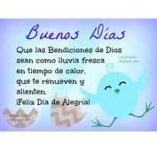 Buenos D As Bendiciones De Dios Para Ti Im Genes Cristianas