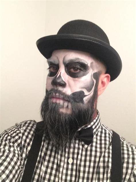 blackbeard costume for men skeleton makeup on beard google search halloween