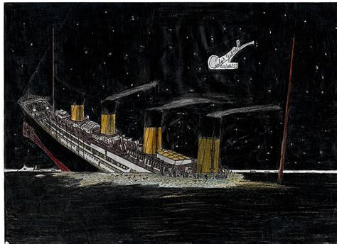 the sinking of the titanic 1912 titanic sinking 1912