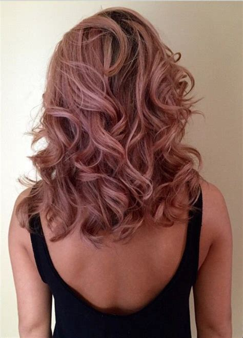 rose gold hair color stunning rose gold hair ideas