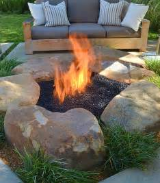 Fire Pit Pavers Home Depot - how to be creative with stone fire pit designs backyard diy modern outdoors