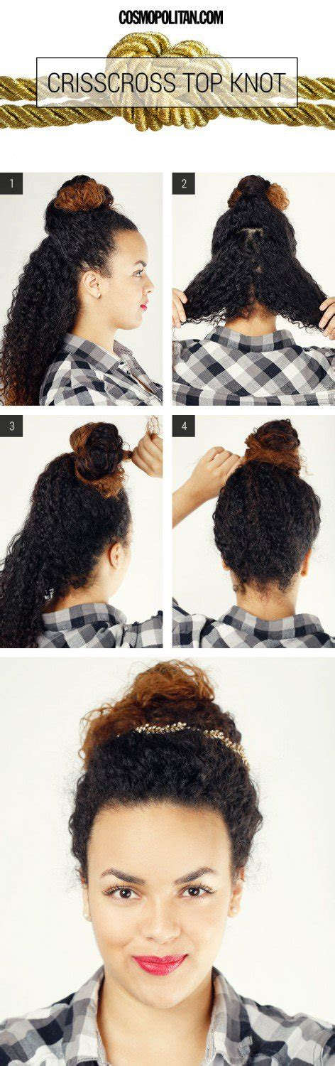 Easy Black Hairstyles To Do At Home by 10 Easy Hairstyle Tutorials For Naturally Curly Hair