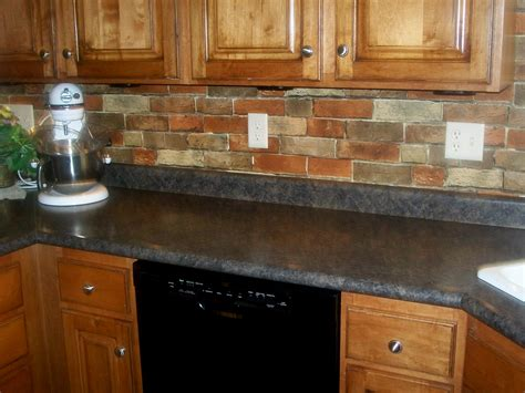 kitchen brick backsplash ideas kitchen adorable contemporary white cabinet colors and