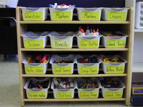 keen on kindergarten organizing math supplies