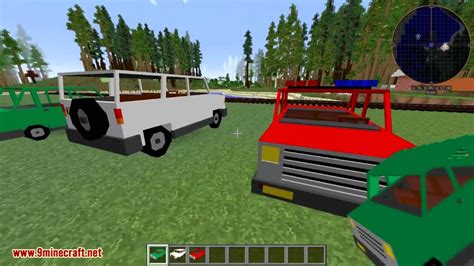 minecraft car vehicle mod 1 8 9 1 7 10 cars trucks and more