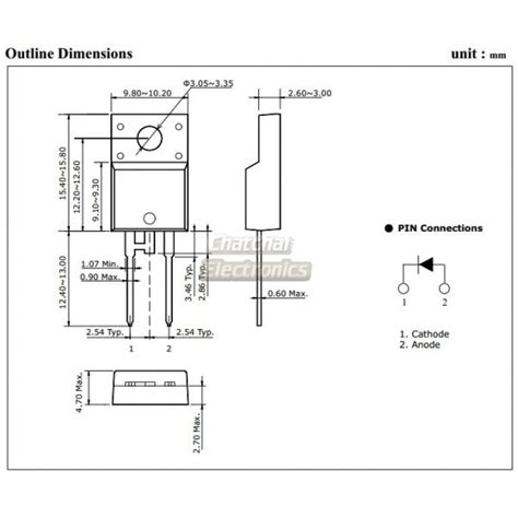 Sf10a400h sf10a400h ultra fast recovery power rectifier