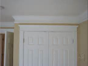 Patio Door Trim Molding Crown Moulding Put Trim Spaced Below And Paint In Wall With Moulding Color Makes Your