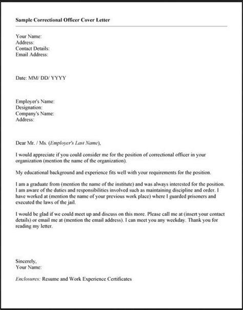Juvenile Correctional Officer Cover Letter by 239 Best Images About On Resume Tips And Language