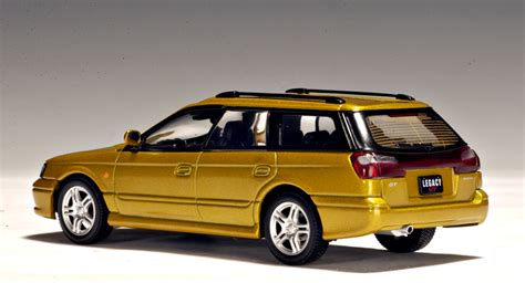 gold subaru legacy autoart 1999 subaru legacy gtb gold 58621 in 1 43
