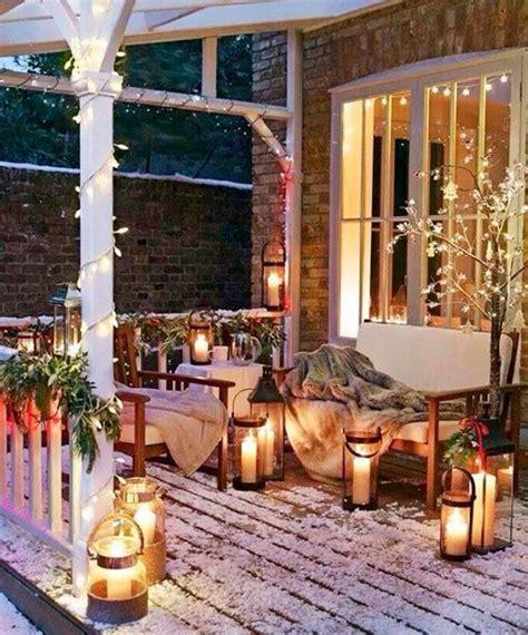 decorar el patio en navidad ideas para decorar el exterior en navidad