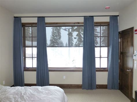 should curtains touch the floor or window sill should my drapes touch the floor kempler design