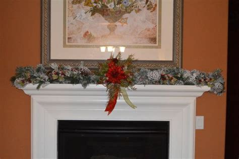 6ft cascading fireplace garland 17 best images about cascading garland for mantle on garlands mantles and