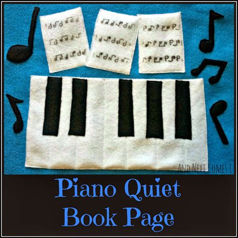 free pattern quiet book piano quiet book page free printable pattern and next
