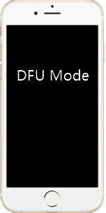 how to get iphone 8 8 plus x in and out of dfu mode