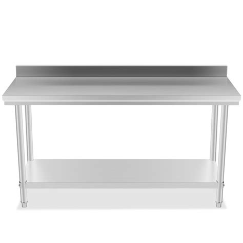 commercial kitchen backsplash commercial kitchen stainless steel work prep table 24 x 60