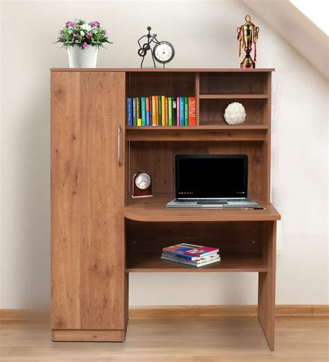 Hometown Kitchen Designs buy study table with book shelves amp cabinet in knotty wood