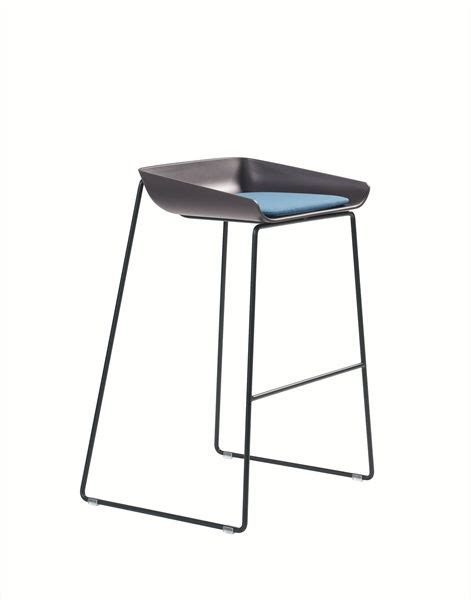 turnstone steelcase scoop stool blue