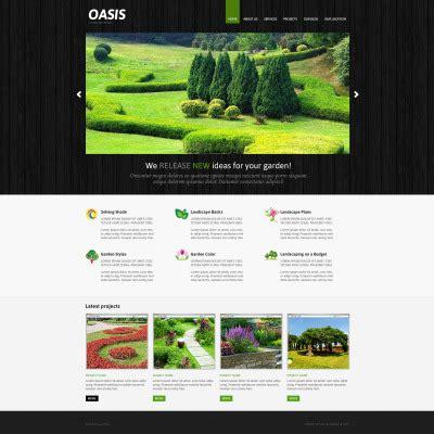 Joomla Design Vorlage Joomla Templates F 252 R Landschaftsdesign